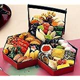 (12月30日着) 京菜味のむら おせち「八坂 」三段重 32品
