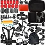 Togetherone 46 IN 1 Macchina Fotografica Accessori Kit per Gopro Hero 4 Session, Gopro Hero 4 Silver, Gopro Hero 4 Black,Gopro Hero 4 3+ 3 2 1 SJ4000 SJ5000 SJ6000