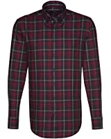 Seidensticker Herren Langarm Hemd Splendesto Regular Fit Button-Down-Kragen mehrfarbig kariert 387152.49