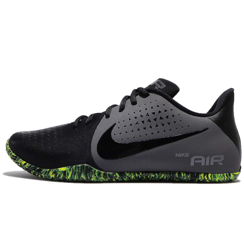 Dark Grey-Black-Volt Basketball Shoes