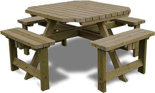 Rutland County Garden Furniture Table de Pique-Nique ...