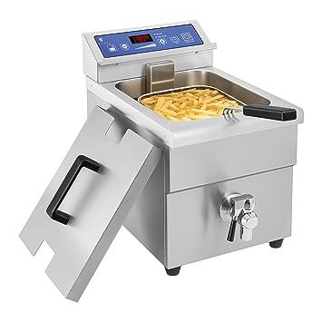 Royal Catering - RCIF-10EB - Freidora de inducción - 1x 10 litros - 60 a 190°C - Envío Gratuito: Amazon.es