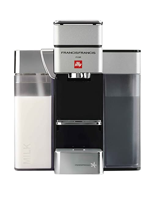 Illy – Máquina de café Iperespresso Y5 gris claro