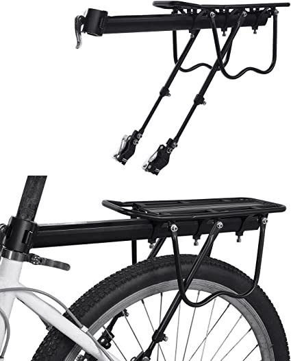 Aufgerüstet Einstellbare Mountainbike Gepäckträger MTB Fahrrad Gepäckträger