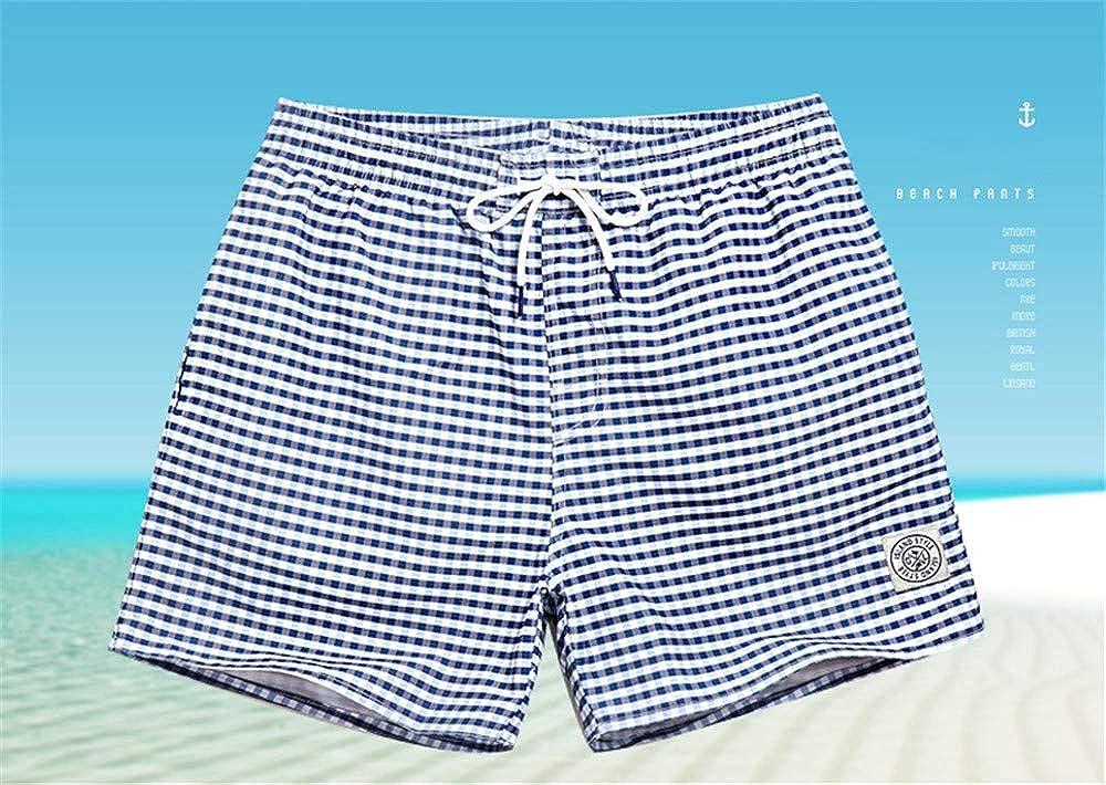 Newstarshop Men Beach Shorts Board Trunks Shorts Casual Quick Drying Bermuda Casual Active