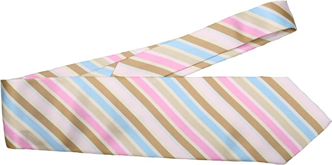Simon Jersey - Corbata - para hombre multicolor Pastel Stripes ...