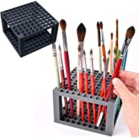Pen Holder Paint Brush Holder 96 Hole (Black)