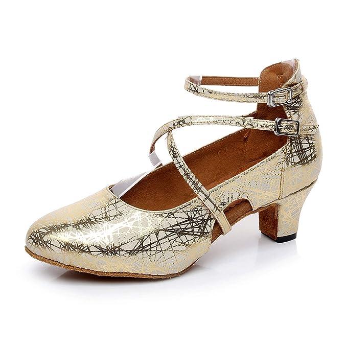 Scarpe Sposa Latina.Donna Latina Salsa Glitter Cinturino Alla Caviglia Di Danza