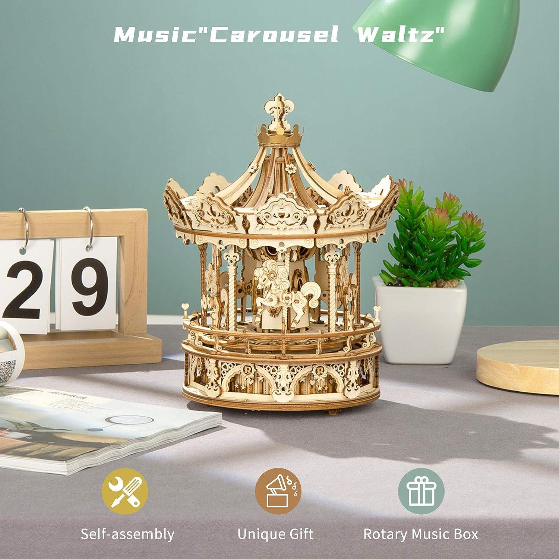 Toys & Games 3-D Puzzles ghdonat.com Exquisite Hands-on Activity ...