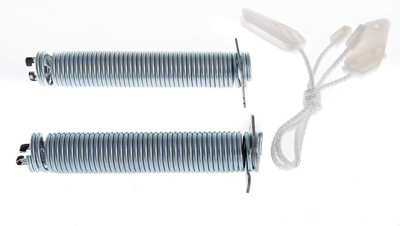 Daniplus© - Juego de reparación para bisagra de puerta, muelles, palpador de cable, compatible con lavavajillas Bosch Siemens Viva - N.º: 00754869, 754869