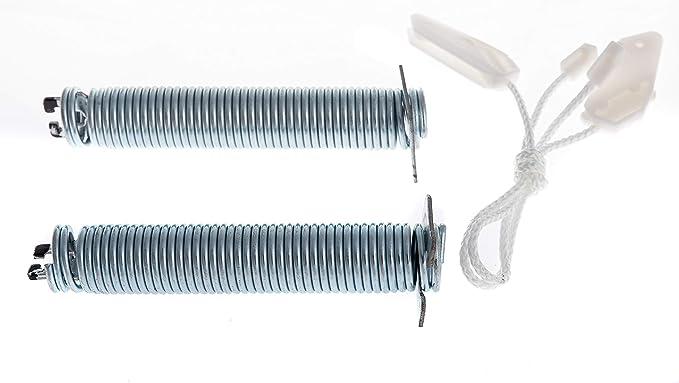 Daniplus© - Juego de reparación para bisagra de puerta, muelles ...
