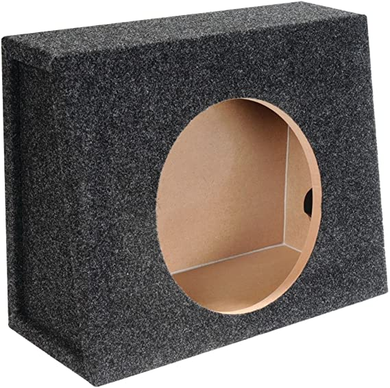 Bbox E12ST Single 12 Sealed Carpeted Truck Subwoofer Enclosure ATREND