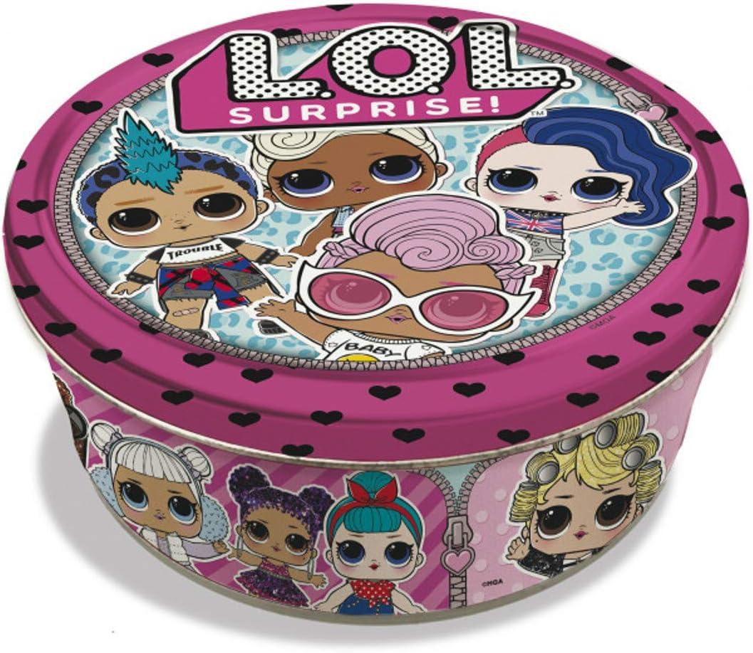 L.O.L. Surprise 931. Caja metálica con 42 cartas. Serie 2.: Amazon.es: Juguetes y juegos