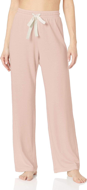 Amazon Essentials – Pantalones ligeros de tejido de rizo para mujer