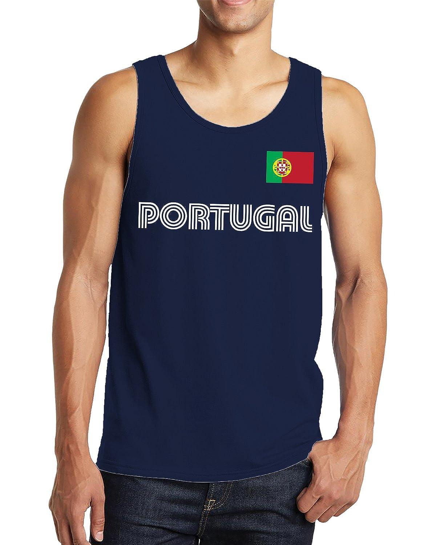 SpiritForged Apparel Portugal Soccer Jersey Mens Tank Top