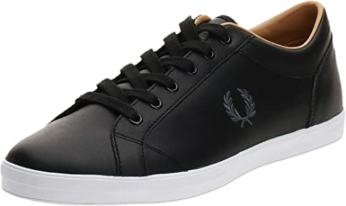 Fred Perry Baseline Trainers Black