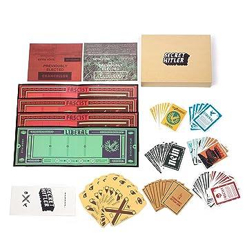 Cenblue Juego de cartas secreto de la mesa de juegos de ...