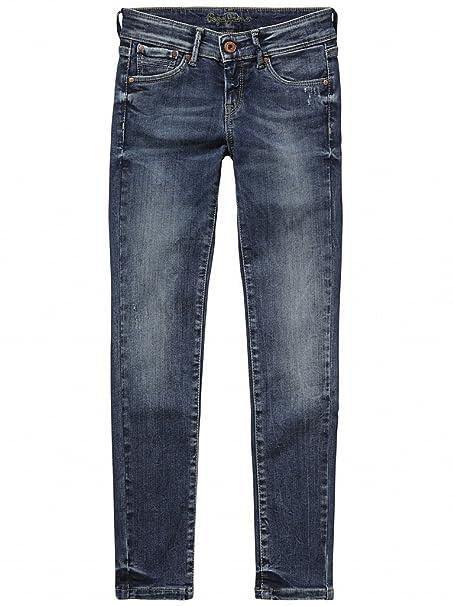 Pepe Jeans PIXLETT FORCE -PANTALON VAQUERO NIÑA T:14: Amazon ...