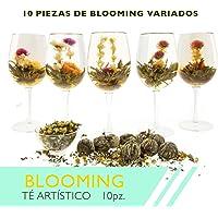 Blooming Te artistico 10 piezas Te gourmet