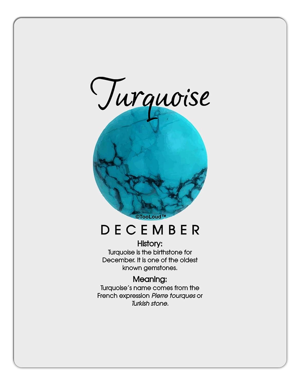 TooLoud Birthstone Turquoise Aluminum Dry Erase Board