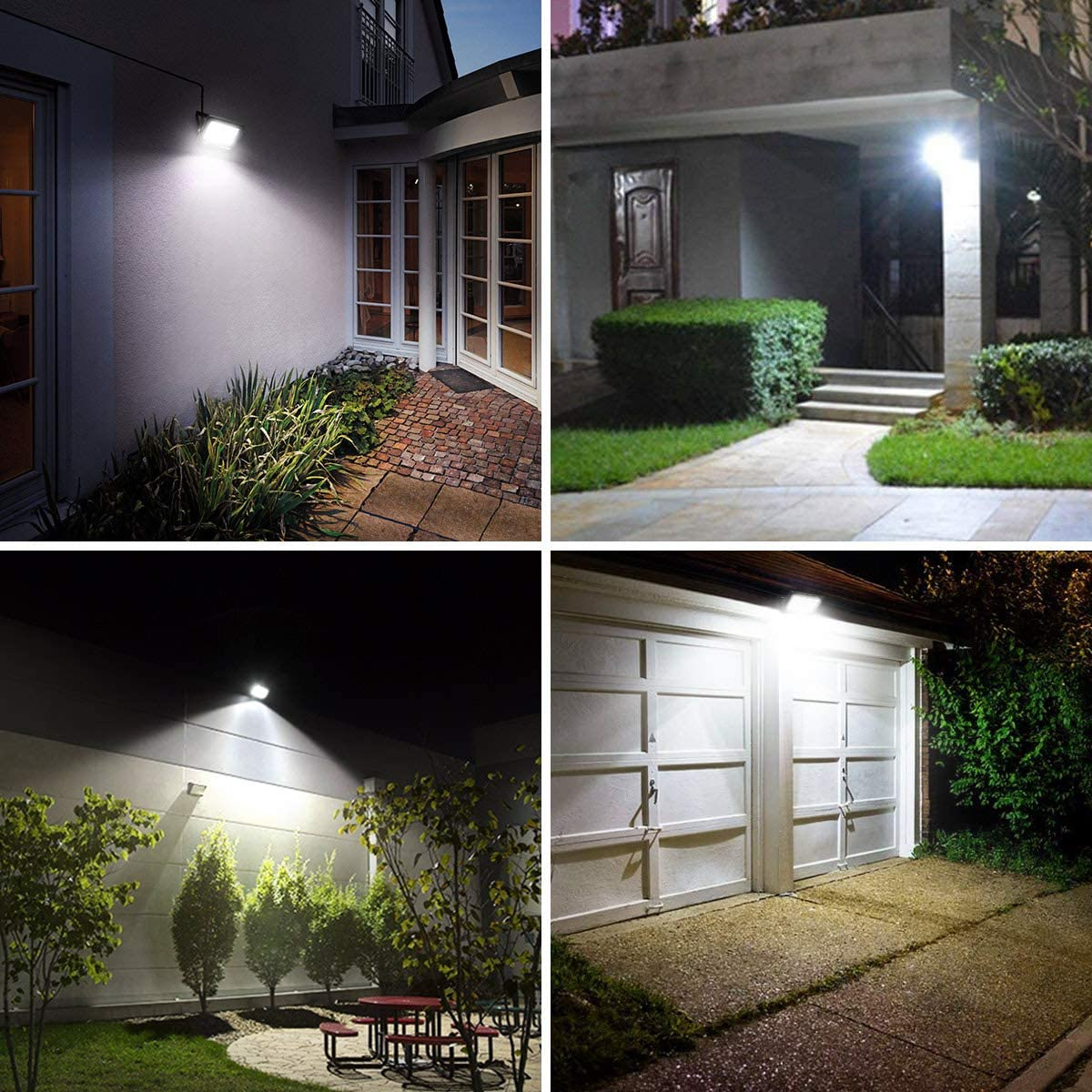Rooftop and More 200W Incandescent Lamp Equivalent LE 30W Led Floodlight Outdoor 3000 Lumen LED Security Lights Backyard Daylight White Outdoor Lights for Patio Waterproof IP65