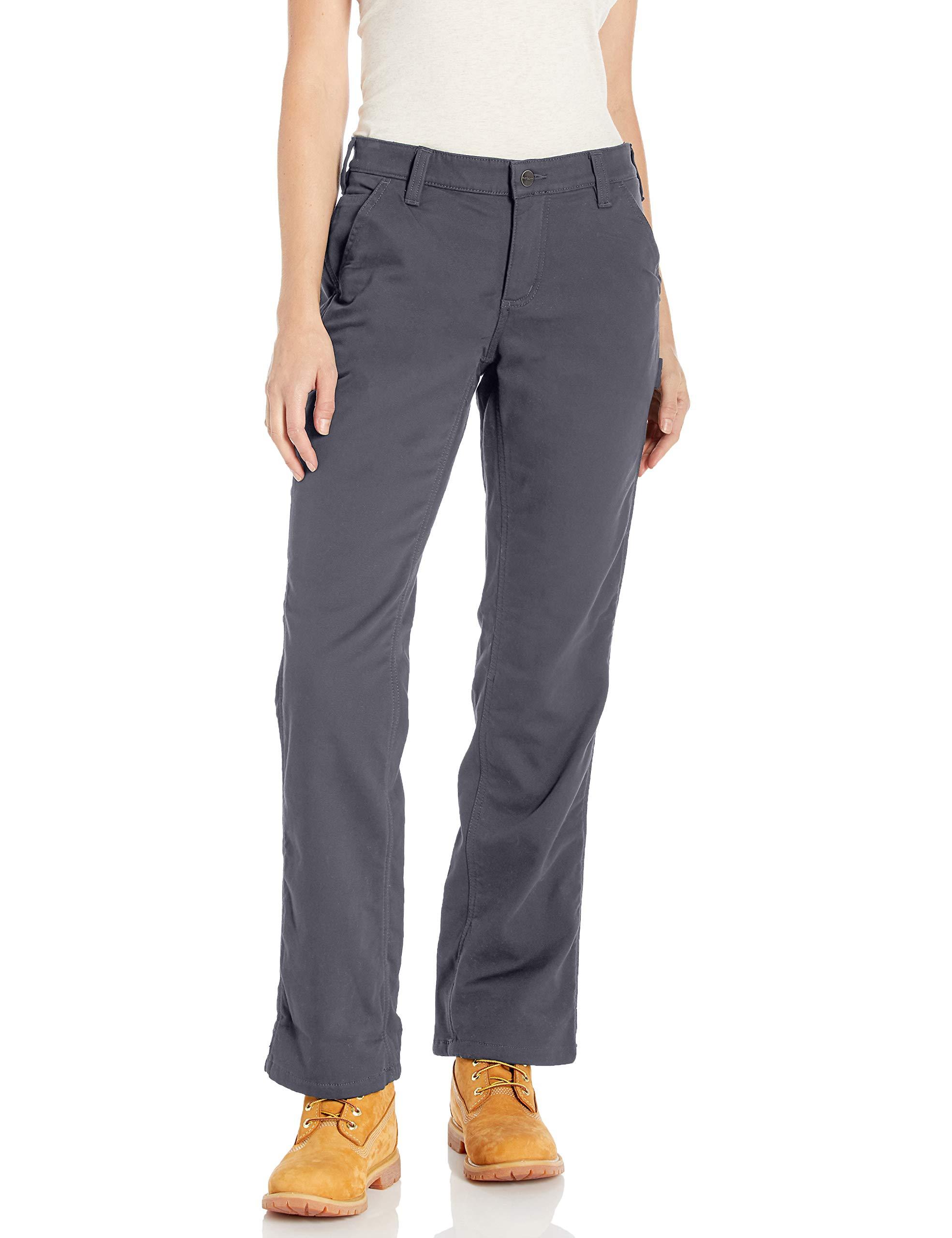Carhartt Women's Original Fit Fleece Lined Crawford Pant