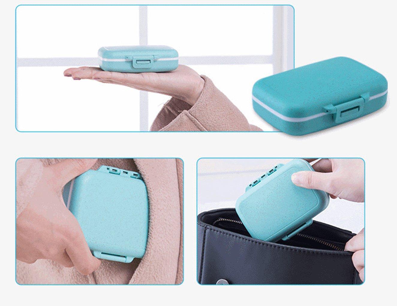 Amazon.com: Pequeña caja de pastillero organizador de ...