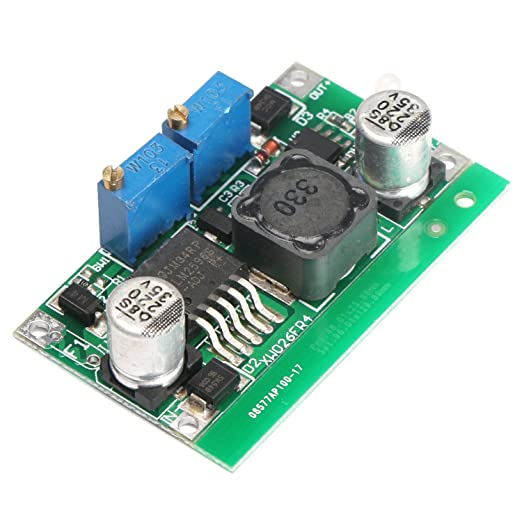 6 opinioni per DROK® CC CV DC Convertitore di Tensione LED Driver 7-35V a 1.25-30V Ricarica