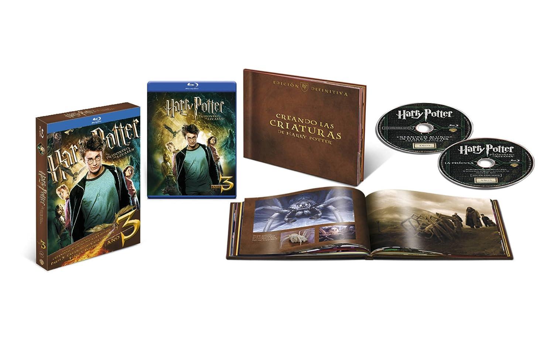 Harry Potter Y El Cáliz De Fuego. Nueva Edición Con Libro Blu-Ray ...