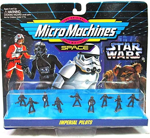 STAR WARS MICRO MACHINES FIGURE IMPERIAL PILOTS #05