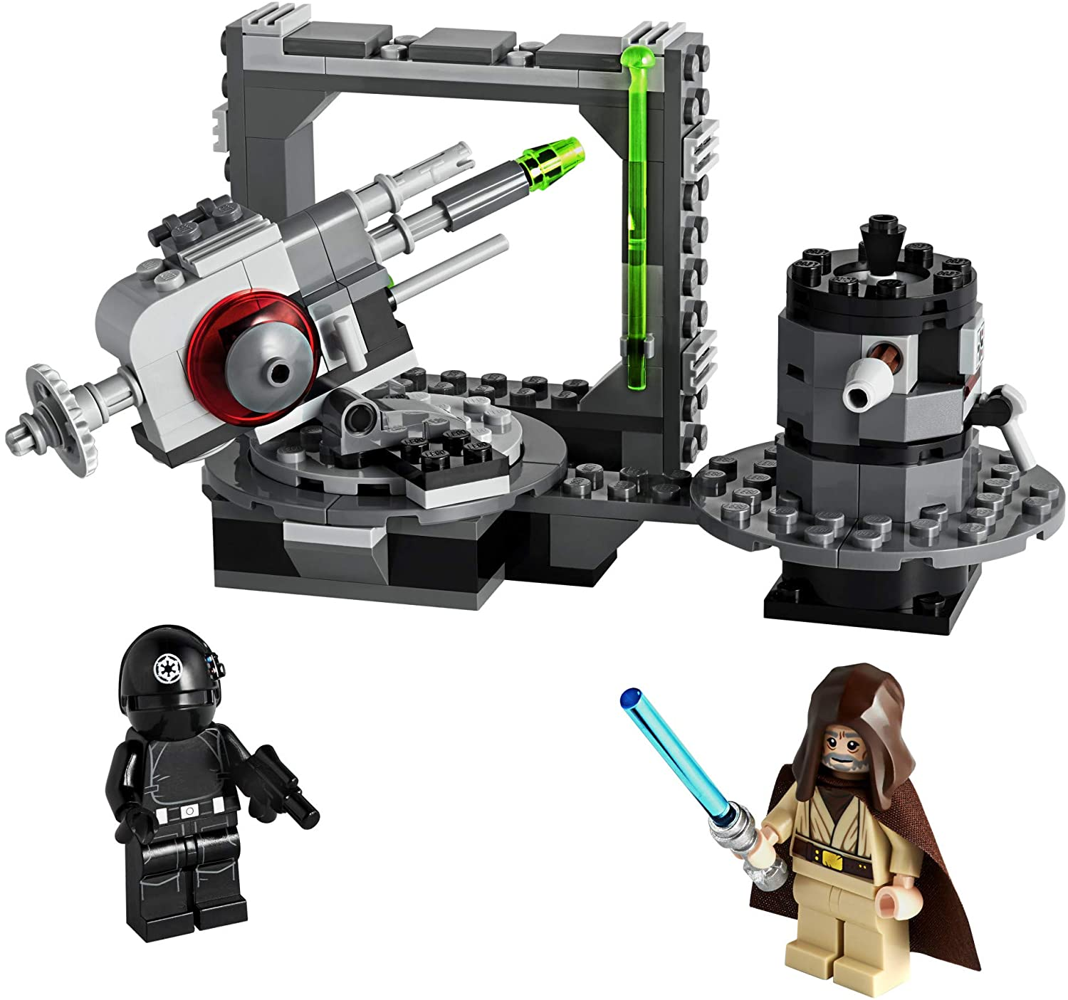 Amazon Com Lego Star Wars A New Hope Death Star Cannon 75246 Advanced Building Kit With Death Star Droid 159 Pieces Toys Games