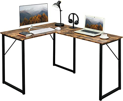 Aingoo L-Shaped Computer Desk 50.6 Modern Corner Desk Workstation