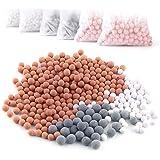 Austor 6 packs de iones negativos de bolas de mineral, piedra para reemplazo bio - activo filtro iónico cabezal de ducha…
