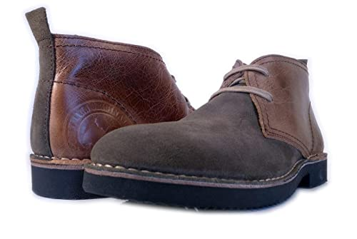 Desert Classic PORTMANN | Boots Antique Brown Oiled Leather | Eva Sole  ExtraLight | Hand Made
