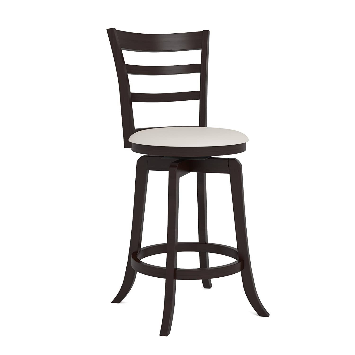 Amazon.com CorLiving DWG-494-B Woodgrove Three Bar Design Wooden Barstool 38-Inch Espresso and Cream Leatherette Kitchen u0026 Dining  sc 1 st  Amazon.com & Amazon.com: CorLiving DWG-494-B Woodgrove Three Bar Design Wooden ... islam-shia.org