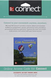 Amazon connect access card for fundamentals of cost accounting connect 1 semester access card for fundamentals of cost accounting fandeluxe Choice Image