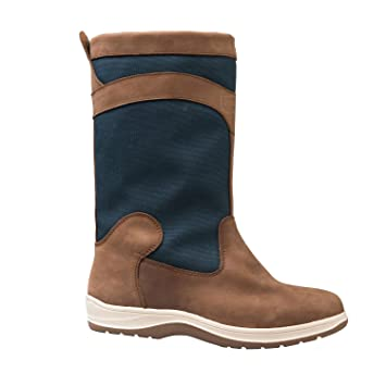 Gul Fastnet Deck Boots In Tan/Navy Ds1005 PI_6715