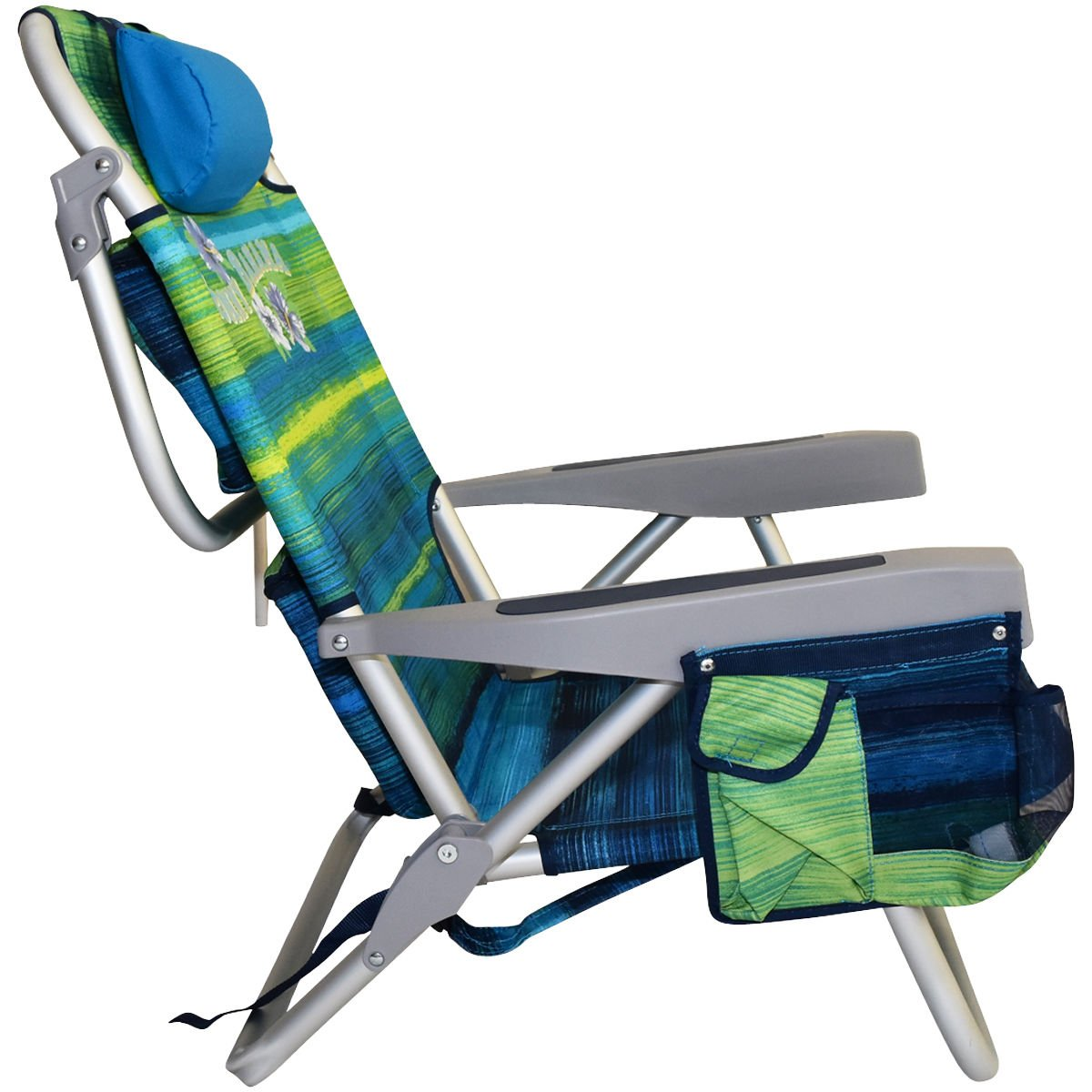 Tommy Bahama Backpack Beach Chairs with One Medium Tote Bag - Pack of 2 - Green by Tommy Bahama (Image #3)