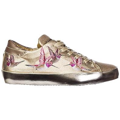 c798c9c38ebd Philippe Model Chaussures Baskets Sneakers Femme Paris Bird Or EU 36  A18ICELDBM03