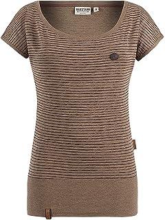 Naketano Damen T-Shirt Pflaumen   Bananen T-Shirt  Amazon.de  Bekleidung 063837e445