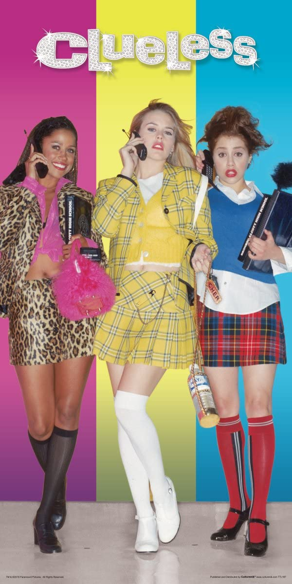 Amazon Com Culturenik Clueless Dionne Cher And Tai Standing Teen Comedy Movie Film Print Unframed 12x24 Poster Posters Prints