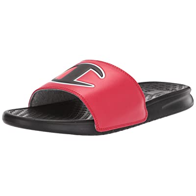 Champion Super Slide Mix Match Red/Black 13   Sandals