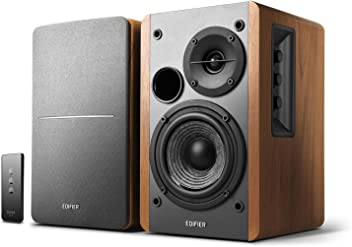 Edifier R1280T Powered Bookshelf Speakers, 2.0 Active Monitor System (Certified Refurbished)