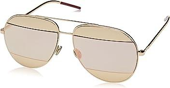 10ca3fcfe10f Dior Womens Split 59Mm Metal Aviator Sunglasses