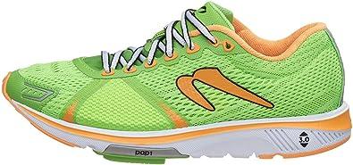 Newton Gravity V de la Mujer Verde/Naranja Zapatillas de Running: Amazon.es: Zapatos y complementos