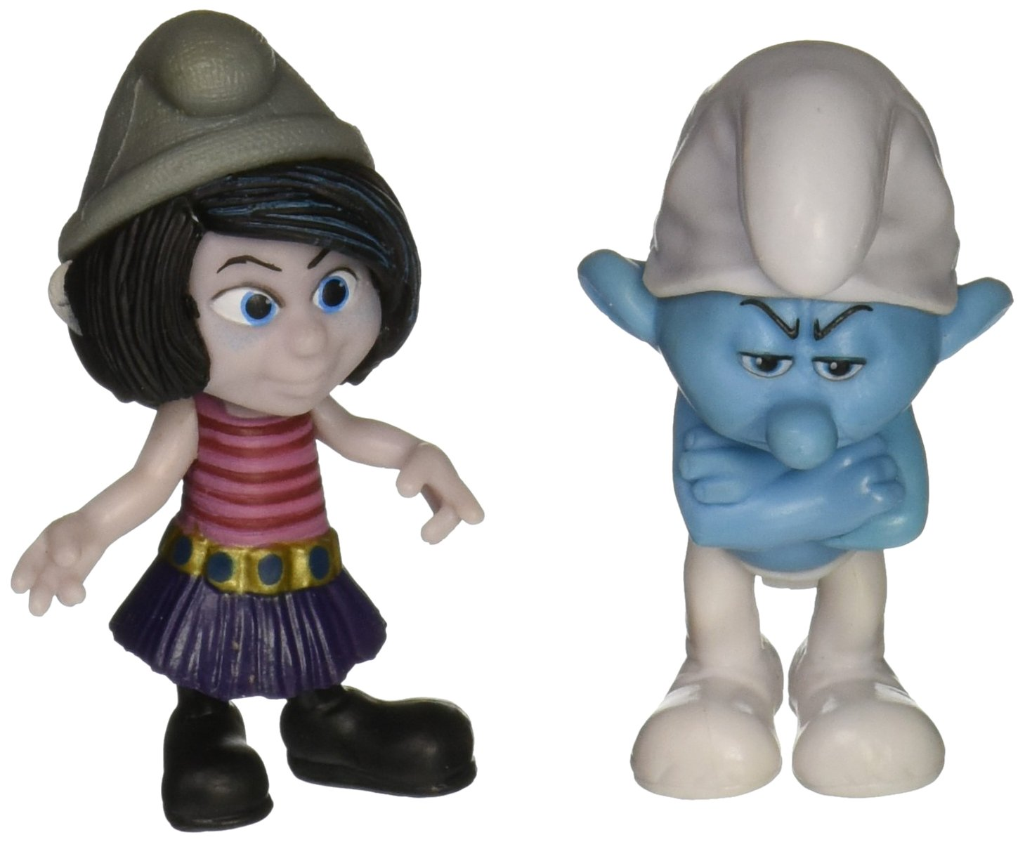 Smurfs Grab Em's Grouchy & Vexy Figure (2 Pack)