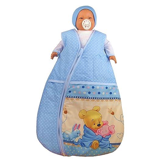 - Saco de dormir para bebé Winnie the Pooh baby Saco de dormir Saco de dormir infantil para las cuatro estaciones azul azul Talla:116/122: Amazon.es: Bebé