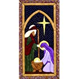 Quilt Magic Holy Family Quilt Magic Kit, 9.5-Inch x 19-Inch