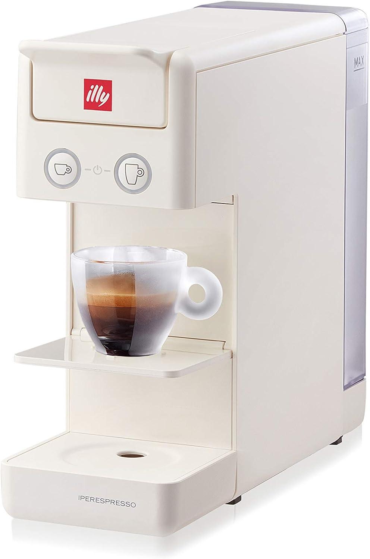 Illy NEW 2020 y3.3 Espresso and Coffee Machine, 12.20x3.9x10.40, White