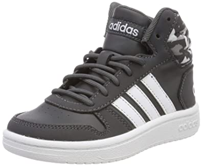 best website 96671 486b9 adidas Hoops Mid 2.0 K, Chaussures de Running garçon, Multicolore (Grey Six